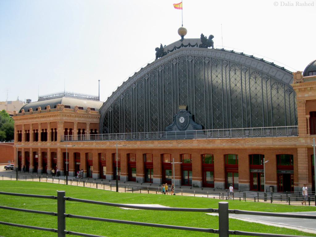 محطة القطار فى مدريد