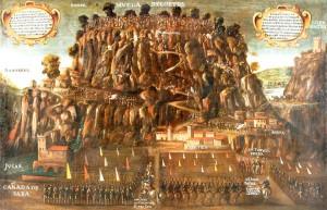 لموريسكيون يقاومون جيوش ملك إسبانيا فوق جبال لا مْويلا دي كورتيس حيث قاتلوا باستماتة رغم قلة السلاح والإمكانيات. ورفضوا الاستسلام، مما أدى بالقوات الإسبانية إلى ارتكاب مجازر رهيبة ما زالت ذكراها حية في ذاكرة سكان المنطقة. السكان الذين يتذكرون بشكل خاص دموع مَنْ سلموا من الموت ونُفيُوا إلى الجزائر وجهات أخرى إسلامية. كانوا يسيرون نازلين من الجبال وهم يلتفتون خلفهم لإلقاء آخر نظرة على أرض الاجداد والديار والبساتين