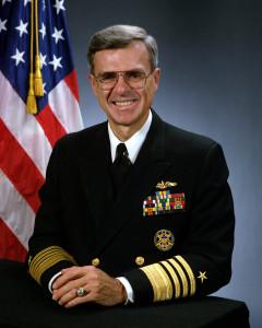 الأدميرال وليام بيل في القوات البحرية للولايات المتحدة ( من مواليد 1940)