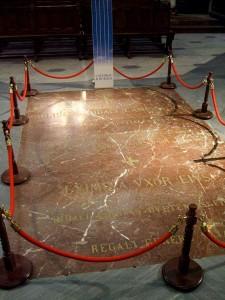 قبر السيد فى كتدرائية برغش
