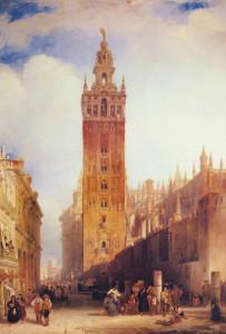 اشبيلية ديفيد روبرت 1832