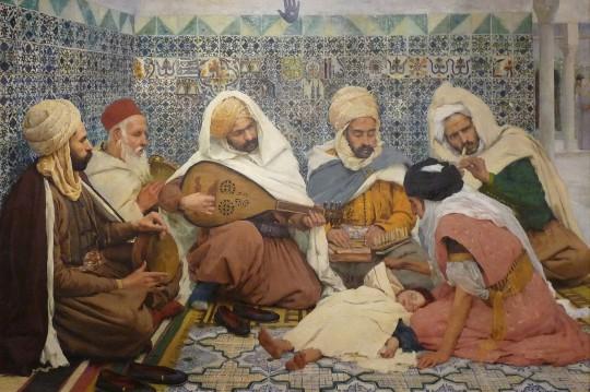 صفحة من غناء اللاجئين والمهاجرين الأندلسيين في الجزائر
