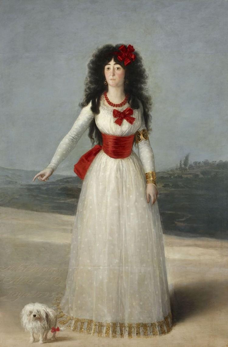 دوقة آلبا ، جميلة جميلات اسبانيا