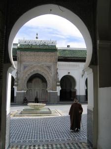 مسجد القرويين بمدينة فاس