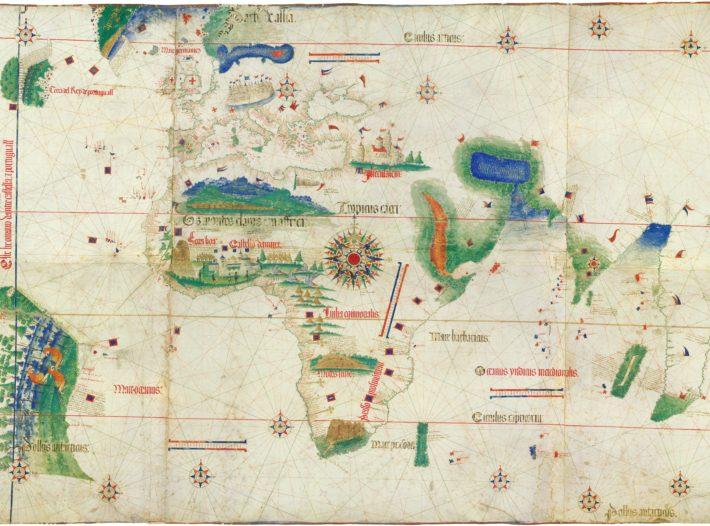 صفحة من الكشوفات الجغرافية