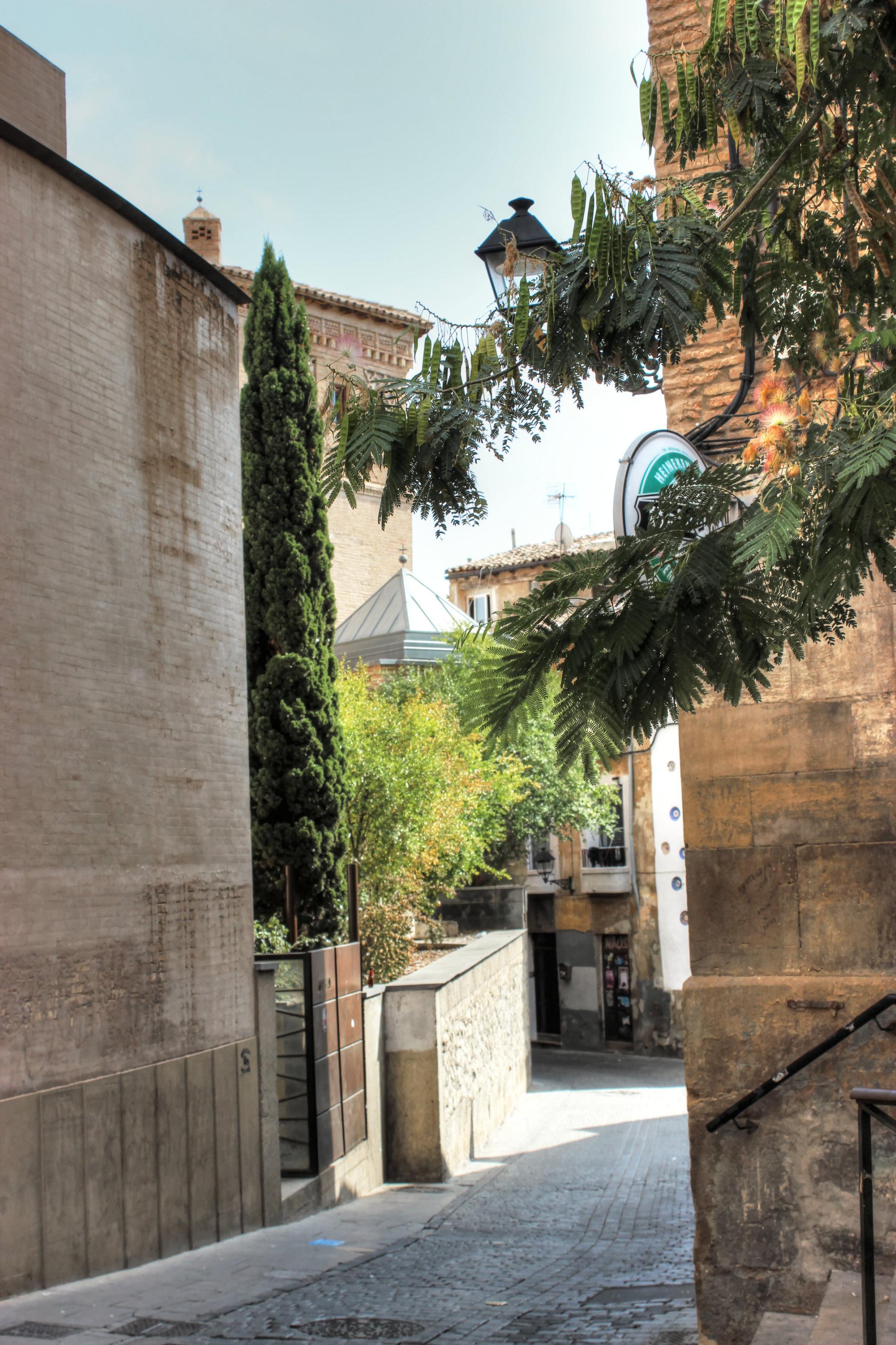 شوارع مدينة تطيلة
