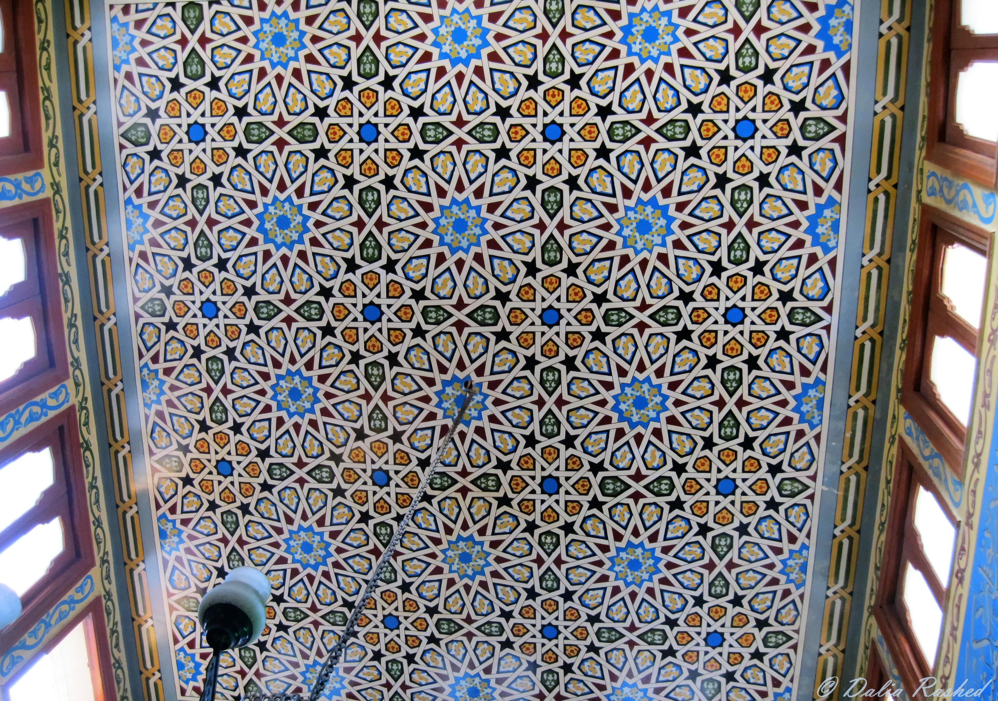 الزليج فى مسجد الطرطوشى