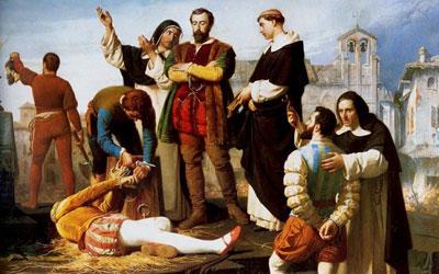 ثورات ضد كارلوس الخامس تنتهي بالإعدام ذبحاً
